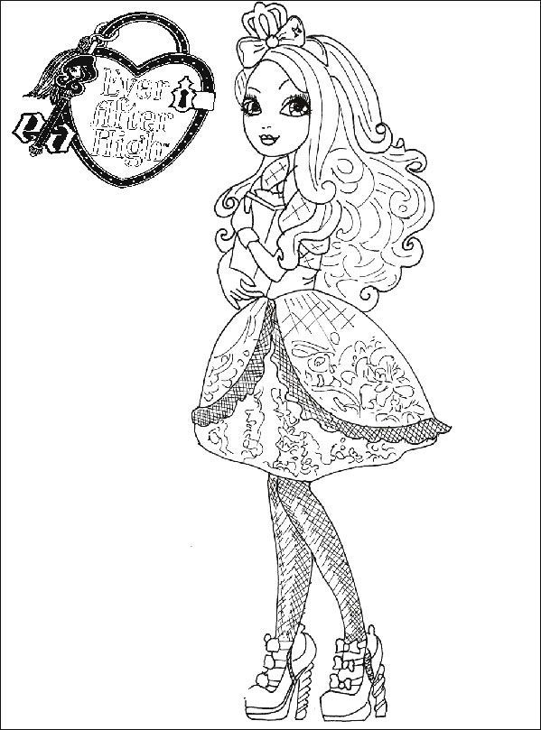 Ausmalbilder Ever After High 12 Ausmalbilder Zum Ausdrucken