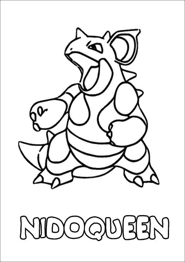 Ausmalbilder Pokemon Dragoran
