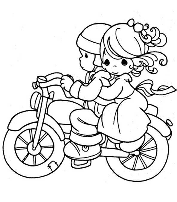 motorrad (5)  ausmalbilder zum ausdrucken