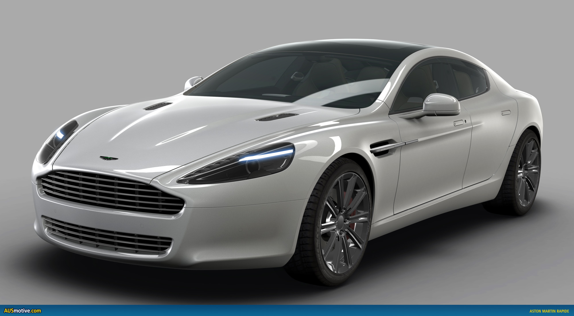 Ausmotivecom » Aston Martin Rapide  Official Renderings