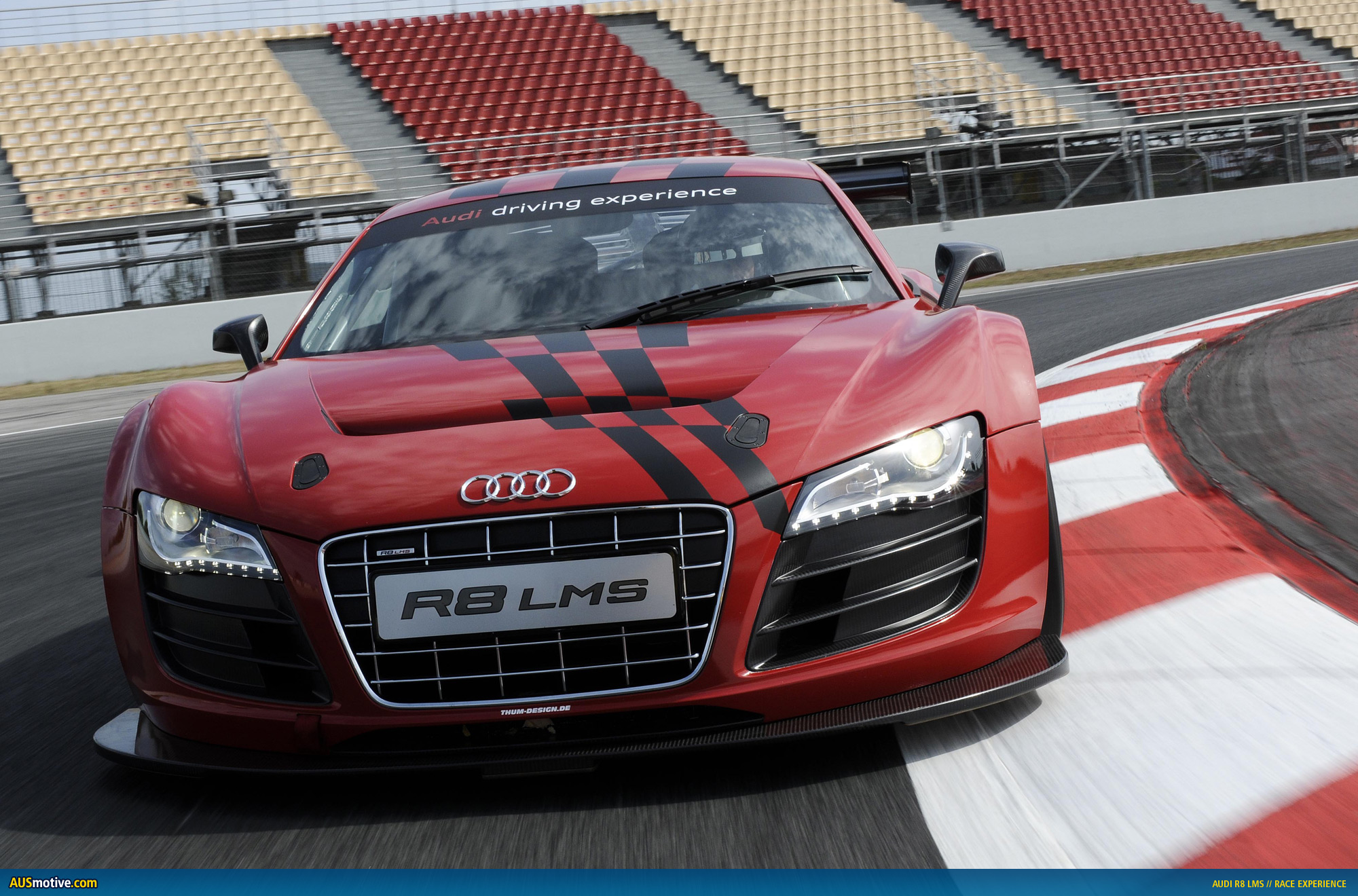 Ausmotivecom » Audi Launches R8 Lms Race Experience