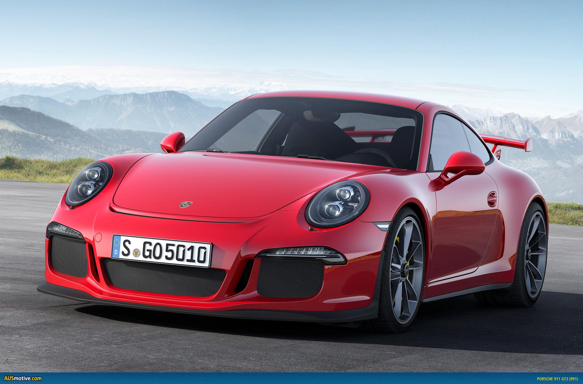 Ausmotivecom » Geneva 2013 Porsche 911 Gt3 Revealed