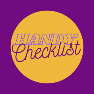 Handy Checklist of Ideas for Social Media Posts