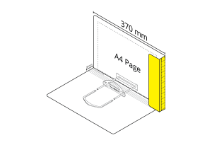 2D File Yellow with LP Tube Clip