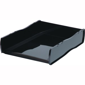 Black Document Letter Tray