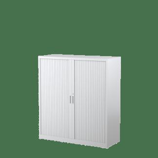 STEELCO Tambour Door Cabinet 1320H x 1200W x 463D - 3 Shelves-WS
