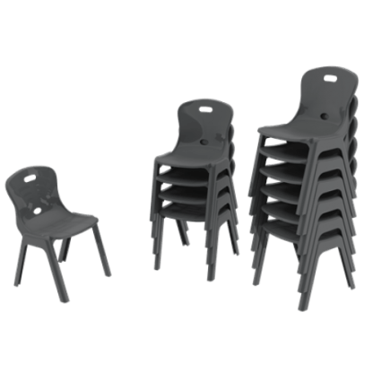 Eclipse Lynx Poly Chair - Stacks