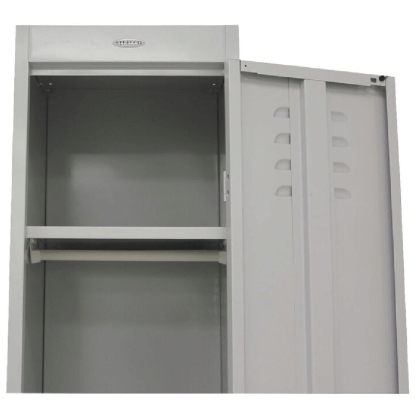 SteelCo Locker Hanging rail and shelf