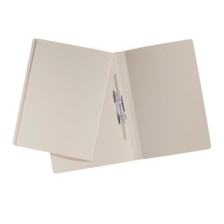 Avery 87003 A4 244 GSM Buff File with Permclip - Pack of 100