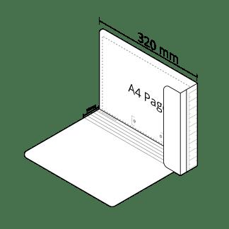 2DA4 Extra File in White