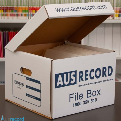ausrecord large archive box file box