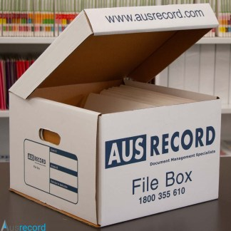 ausrecord large archive box file box