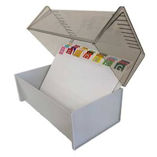 Ausrecord sheet dispenser box ascot 6104