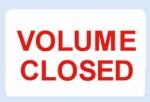 Volume Closed Labels