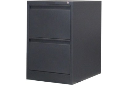 2 drawer steel filing cabinet in graphite ripple