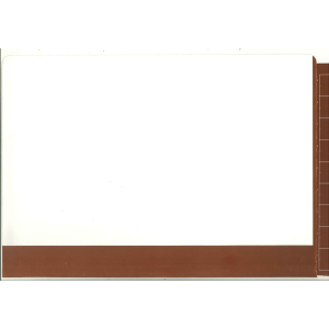2d brown colour flap and spine file for colour coded filing