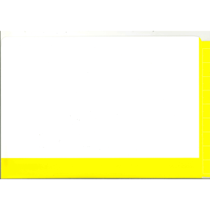 2D yellow colour flap and spine file
