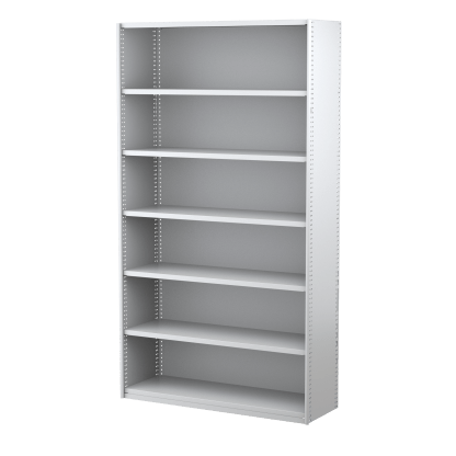 Ausrecord Static Steel Shelving 2175H x 1200W x 400D - Starter Bay-WS