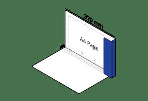 2D File Dark Blue