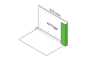 2D File Light Green