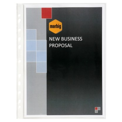 Marbig Deluxe Sheet Protectors