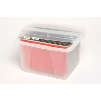 crystalfile porta box with 10 files