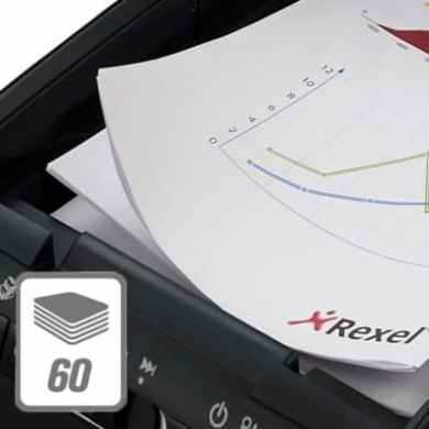 Rexel Auto+ 60X Shredder 60 sheet capacity