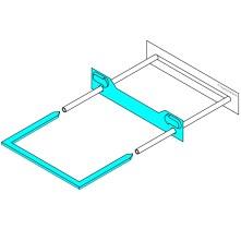 Ausrecord blue tube clip traditional tube clip set blue