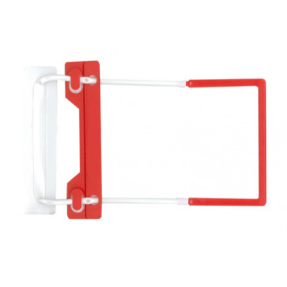ausrecord 3-in-1 tube clip traditional tube clip red