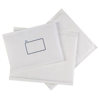 CUMBERLAND BUBBLE LINED PAPER MAILER 215 X 280MM WHITE BX100