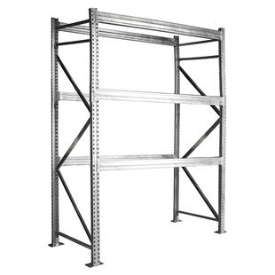 Galvanized Rivet Rack Shelving