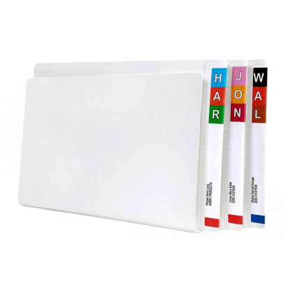 Avery 46511 White Shelf Lateral File with Permclip box of 100