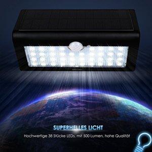 Albrillo LED Solar Außenleuchte schont die Umwelt