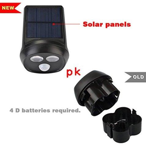ᐅ Deallink Solarbetriebene Led Aussenleuchte ᐅ Mit Bewegungsmelder