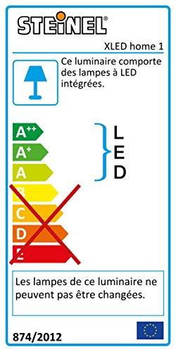 Steinel Sensor LED-Strahler XLED Home 1 weiß, LED-Scheinwerfer mit 140° Bewegungsmelder und max. 14 m Reichweite, 920 Lumen Helligkeit ,Lichtfarbe 6700 K Kalt-weiß, 002695 - 2