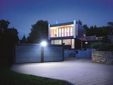 Steinel Sensor LED-Strahler XLED Home 1 weiß, LED-Scheinwerfer mit 140° Bewegungsmelder und max. 14 m Reichweite, 920 Lumen Helligkeit ,Lichtfarbe 6700 K Kalt-weiß, 002695 - 3