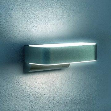 Steinel Up-/Downlight L 810 LED iHF silber, Sensor Außenleuchte mit 12,5 Watt LEDs und 612 Lumen, Wandleuchte mit 160° Hochfrequenz Bewegungssensor mit max. 5 m Reichweite, 671310 - 4