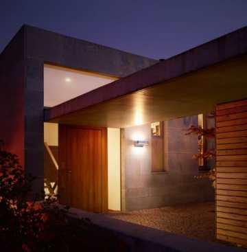 Steinel LED Außenleuchte mit Bewegungsmelder Up-/Downlight