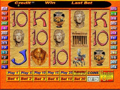 Parthenon Pokie