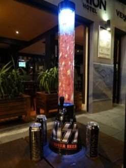 KISS Beer Tube