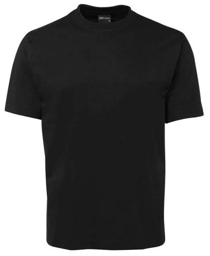 Round Neck T Shirts - Black