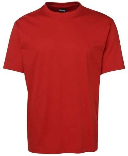 Round Neck T Shirts - Red