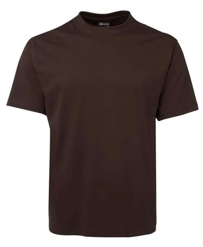 Round Neck T Shirts - Chocolate