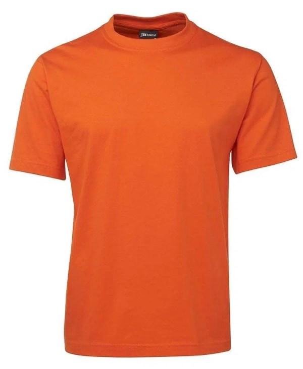 Round Neck T Shirts - Orange
