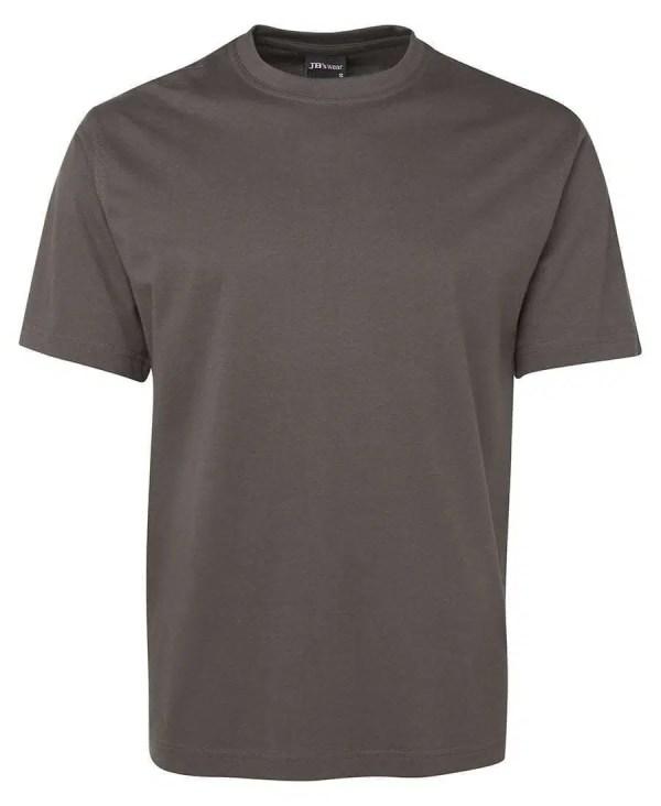 Round Neck T Shirts - Steel