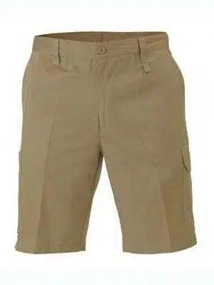 Bisley Light & Cool Utility Shorts- khaki