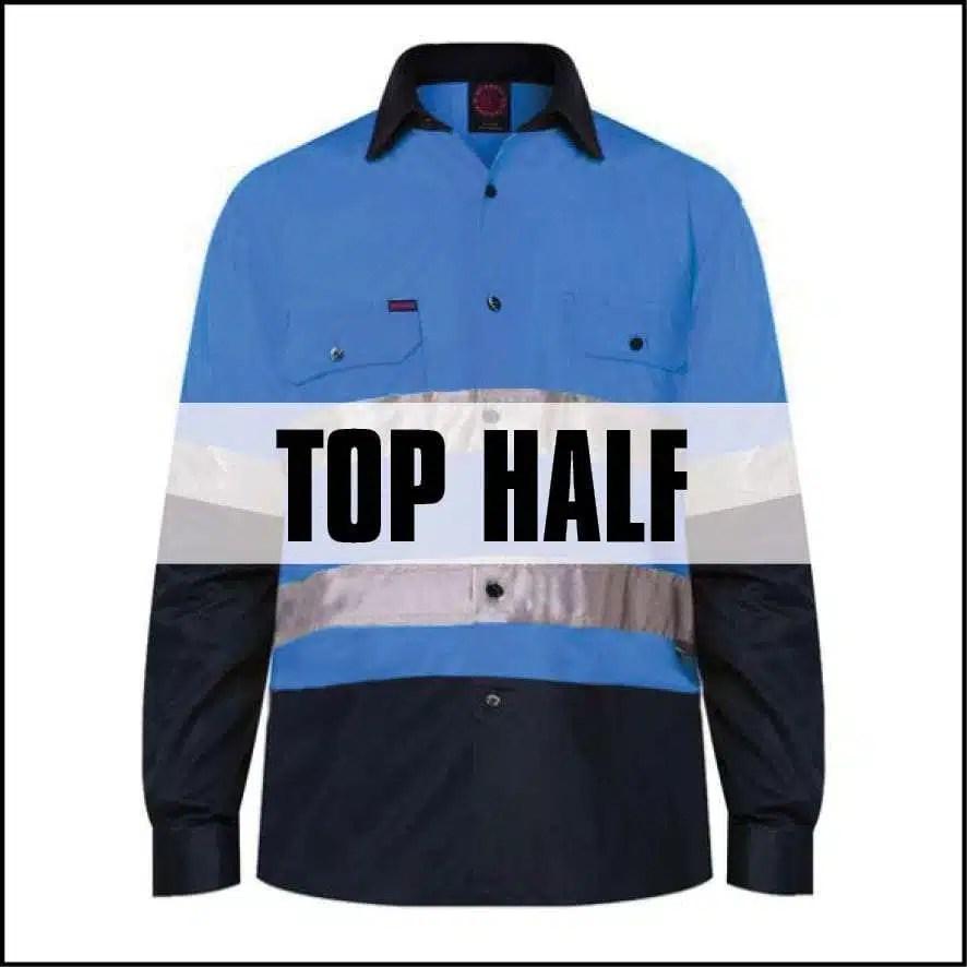 top half