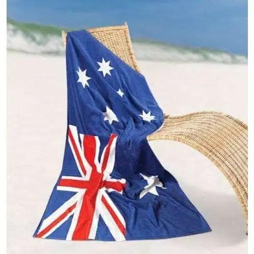 Australian Flag Towel - Product Image