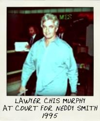 1995 Lawyer Chris Murphy at Neddy hearing at St James Court.-aussiecriminals
