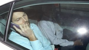 Busy on the phone...Gerard Baden-Clay